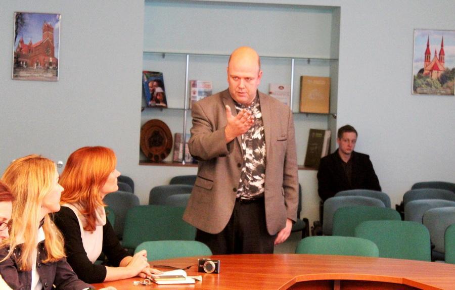 20-21 ноября 2018 года  проректор Мининского университета Михаил Юрьевич Соловьёв посетил БГПУ и встретился с сотрудниками ЦРПО